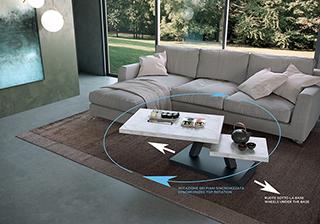 Design Salvaspazio Tavolini Girevoli