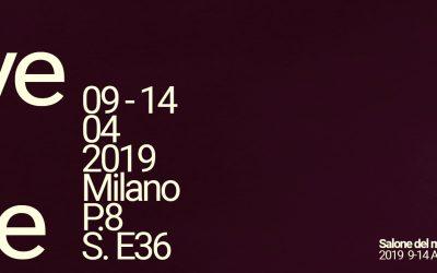 Save the Date! Salone del Mobile 2019